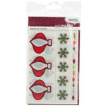 American Crafts - MiniMarks - Christmas - Frosty Accents - Color