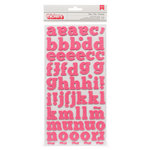 American Crafts Paper - XOXO Collection - Thickers - Glitter Foam - Dear - Begonia