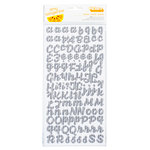 American Crafts - Amy Tangerine Collection - Yes, Please - Thickers - Two-Tone Foam Stickers - Sincere - Ash