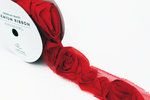 American Crafts - Rose Ribbon - Rouge - One Yard