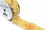 American Crafts - Rose Ribbon - Butter - One Yard