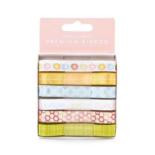 American Crafts - Hello Sunshine Collection - Ribbon - Dusk