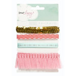 American Crafts - Dear Lizzy Neapolitan Collection - Ribbon - Printed and Specialty