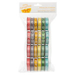 American Crafts - Amy Tangerine Collection - Yes, Please - Ribbon Value Pack - 24 Spools