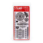 American Crafts - Love Collection - Clear Acrylic Stamp Set - One and Only