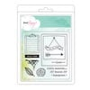 American Crafts - Dear Lizzy 5th and Frolic Collection - Clear Acrylic Stamps