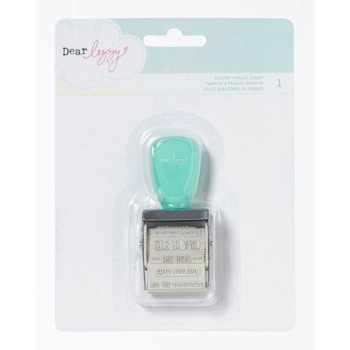 American Crafts - Dear Lizzy Lucky Charm Collection - Roller Date Stamp