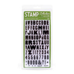 American Crafts - City Park Collection - Clear Acrylic Stamp Set - Max - Large, CLEARANCE