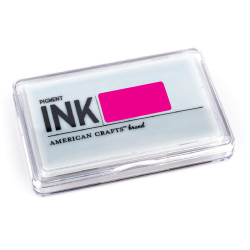American Crafts - Archival Pigment Ink Stamp Pad - Taffy, CLEARANCE