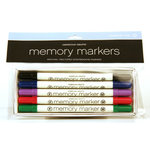 American Crafts - Memory Markers - 5 Pack - Color Set 1