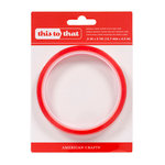 American Crafts - This to That Adhesive - Red Tape - Double-sided - 5 Yards - 1/2 Inch