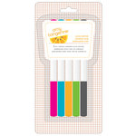 American Crafts - Amy Tangerine Collection - Yes, Please - Slick Writers - 5 Pack - Contribute