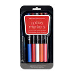 American Crafts - Galaxy Markers - Broad Point - 5 Pack