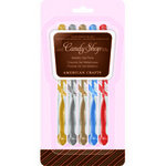 American Crafts - Candy Shop Gel Pens - 5 Pack - Metallic