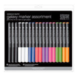 American Crafts - Galaxy Markers Value Pack - 18 Piece
