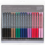 American Crafts - Precision Pens Value Pack - 18 Piece
