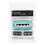 American Crafts - Knock Outs - Border Punches - Zig Zag
