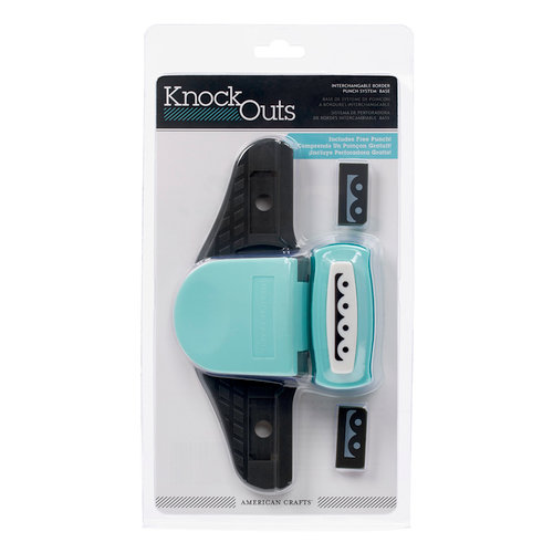 American Crafts - Knock Outs - Border Punch System Starter Kit