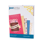American Crafts - Confetti Collection - Just Write - Cards and Envelopes