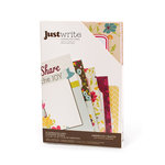 American Crafts - Garden Cafe Collection - Just Write - Journaling Cards