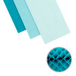 We R Memory Keepers - DIY Party Collection - Honeycomb - Large - Ocean