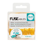 We R Memory Keepers - FUSEables Collection - Fringe Tape - Yellow