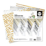 We R Memory Keepers - Clearly Posh Collection - 12 x 12 Acetate Paper Pad