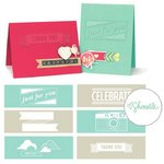 We R Memory Keepers - Shimelle Collection - Embossing Strips - Phrases - True Stories