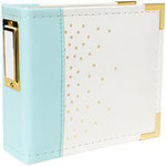 We R Memory Keepers - 4 x 4 - Instagram Albums - Mint With Gold Foil Dots