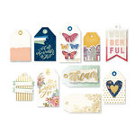 We R Memory Keepers - Wildflower Collection - Layered Tags