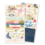 We R Memory Keepers - Wildflower Collection - Cardstock Stickers