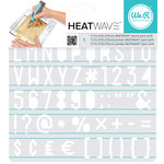 We R Memory Keepers - Heatwave Stencils - Sans Serif