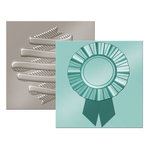 We R Memory Keepers - Next Level 3D Embossing Folders - Ribbon