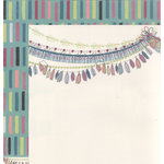 We R Memory Keepers - Hello Darling Collection - 12 x 12 Double Sided Paper - Breezy