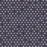 We R Memory Keepers - Denim Blues Collection - 12 x 12 Double Sided Paper - Multicolor Dot