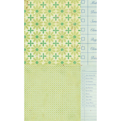 American Crafts - Crate Paper - Pretty Party Collection - 12 x 12 Double Sided Paper - Planner