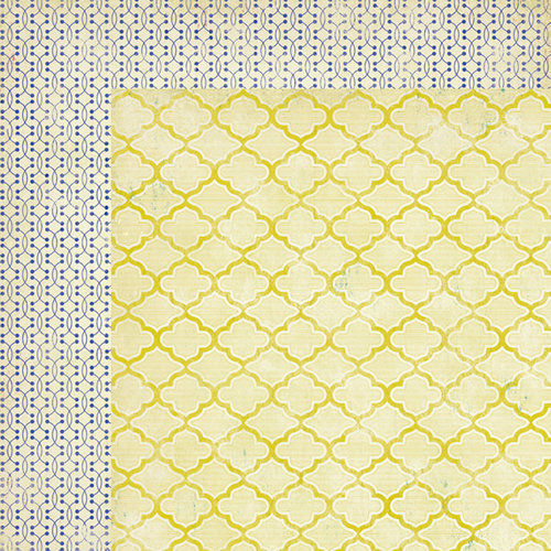 American Crafts - Crate Paper - On Trend Collection - 12 x 12 Double Sided Paper - La Mode