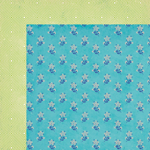 American Crafts - Crate Paper - On Trend Collection - 12 x 12 Double Sided Paper - Couture