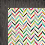 American Crafts - Crate Paper - On Trend Collection - 12 x 12 Double Sided Paper - Swanky