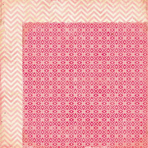 American Crafts - Crate Paper - Fourteen Collection - 12 x 12 Double Sided Paper - Cupid