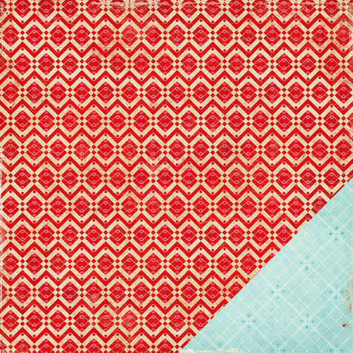 American Crafts - Crate Paper - Fourteen Collection - 12 x 12 Double Sided Paper - Connection