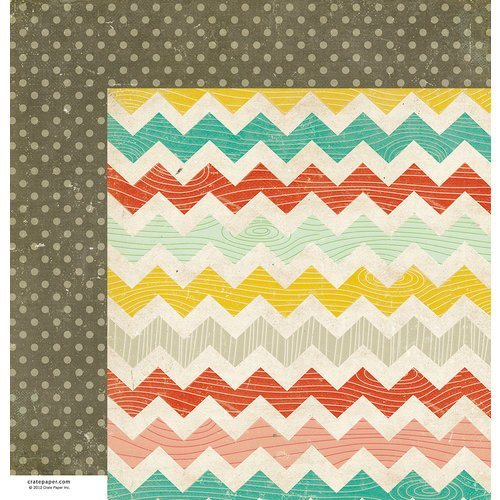 American Crafts - Crate Paper - Party Day Collection - 12 x 12 Double Sided Paper - Celebrate