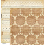 American Crafts - Crate Paper - DIY Shop Collection - 12 x 12 Double Sided Paper - Measurements