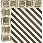 American Crafts - Crate Paper - DIY Shop Collection - 12 x 12 Double Sided Paper - Design