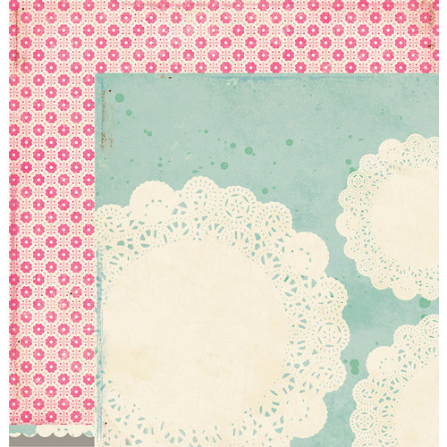 American Crafts - Crate Paper - Maggie Holmes Collection - 12 x 12 Double Sided Paper - Captured