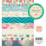 American Crafts - Crate Paper - Maggie Holmes Collection - 6 x 6 Paper Pad