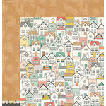 Crate Paper - Wonder Collection - 12 x 12 Double Sided Paper - Cheerful