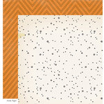 Crate Paper - After Dark Collection - Halloween - 12 x 12 Double Sided Paper - Midnight