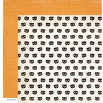 Crate Paper - After Dark Collection - Halloween - 12 x 12 Double Sided Paper - Night Owl