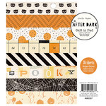 Crate Paper - After Dark Collection - Halloween - 6 x 6 Paper Pad